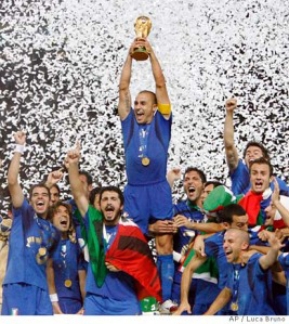2006 World Cup winners- Italy