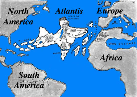 a map of Atlantis