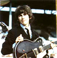 George and his Rickenbacker