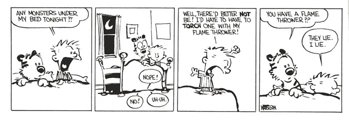 Calvin and truth