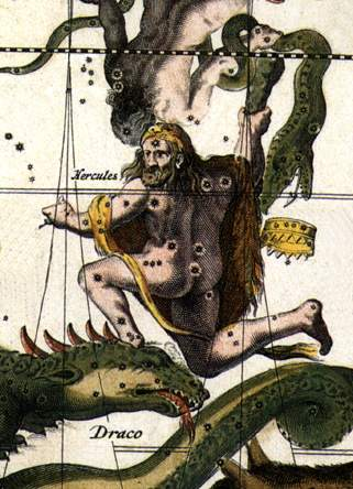 The Warrior Atop the Great Serpent