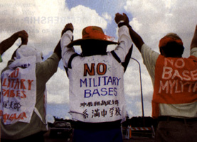 Protests in Okinawa